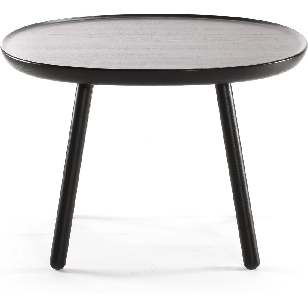 EMKO Na•ve Square Side Table D640 | Black Nsq640black