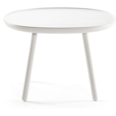 EMKO Na•ve Square Side Table D640 | White Nsq640white