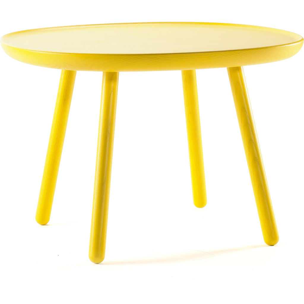 Emko na•ve square side table d640 yellow nsq640yellow