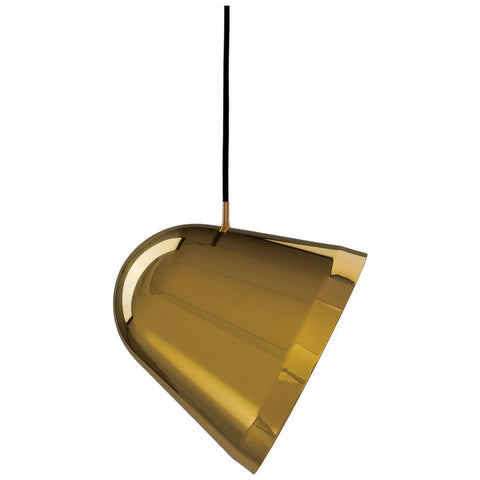 Nyta Large Tilt Pendant Light | Polished Brass NY-TLT-LBR
