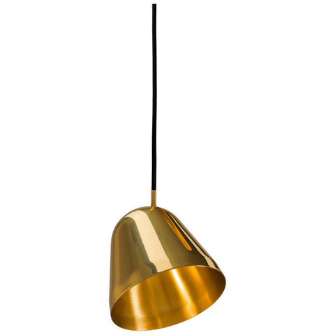 Lighting a curated collection of lamps fixtures lights bulbs nyta small tilt pendant light polished brass ny tlt sbr aloadofball Images