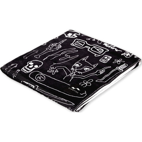 Slowtide Beach Towel | Moblow Black ST014