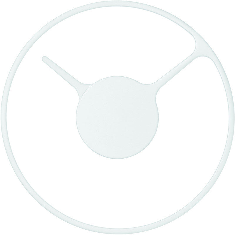 Stelton Time 22cm Medium Wall Clock | White