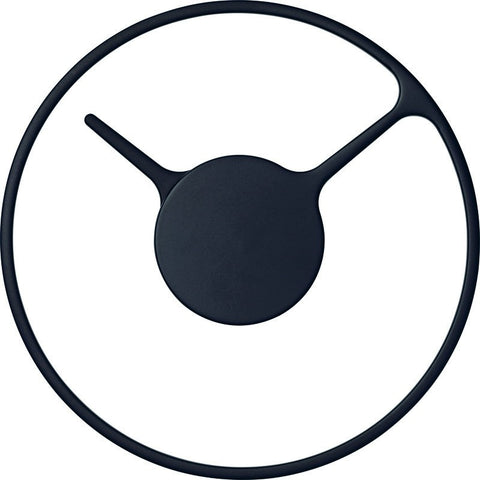 Stelton Time 22cm Wall Clock | Medium Black 852