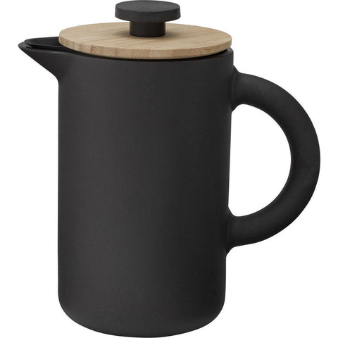 Stelton Theo Stoneware French Press | Black x-636