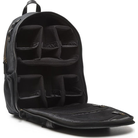 ONA The Big Sur Camera Backpack | Black Canvas- ONA5-063BL