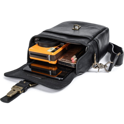 ONA Leather Bond Street Bag | Black ONA5-064LBL