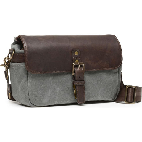 ONA The Bowery Camera Sling Bag | Smoke/Dark Truffle- ONA5-014GRLDB
