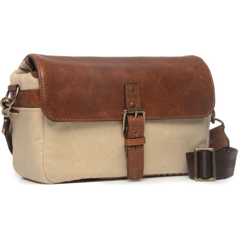 ONA The Bowery Camera Sling Bag | Natural/Antique Cognac- ONA5-014NTL
