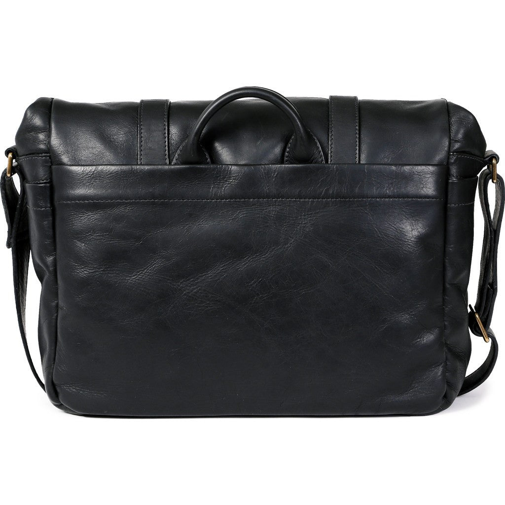 ONA Brixton Camera Messenger Bag | Black Leather ONA 5-013LBL