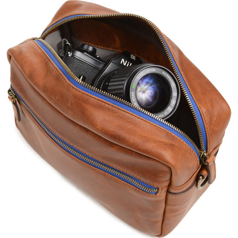 ONA The Crosby Camera Bag | Antique Cognac- ONA5-067LBR
