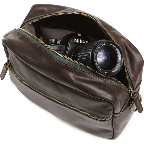 ONA The Crosby Camera Bag | Dark Truffle- ONA5-067LDB
