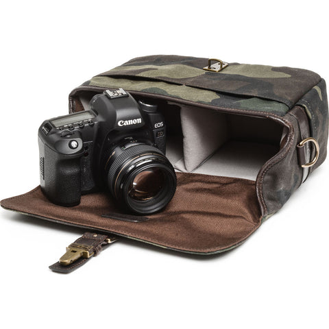 ONA The Prince Street Camera Messenger Bag | Camouflage - ONA5-024CMO