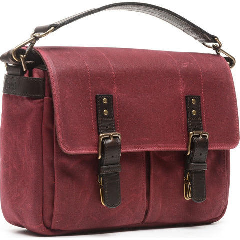 ONA The Prince Street Camera Messenger Bag | Crimson- ONA5-024BRG