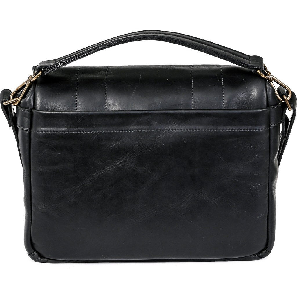 ONA Prince Street Camera Messenger Bag | Black Leather ONA 5-024LBL