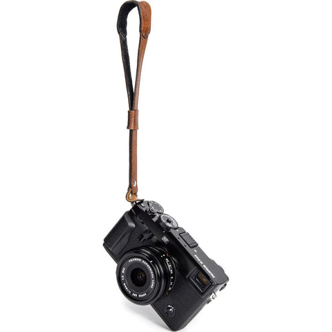 ONA Camera Wrist Strap | Antique Cognac ONA5-062LBR