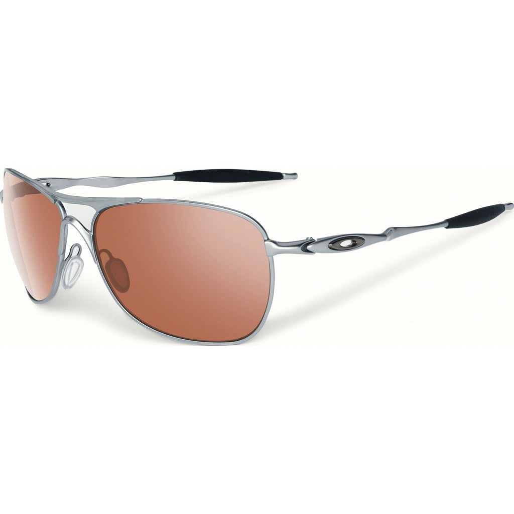 Oakley Iconic Crosshair Polished Chrome Sunglasses | VR28 Black Iridium OO4060-02