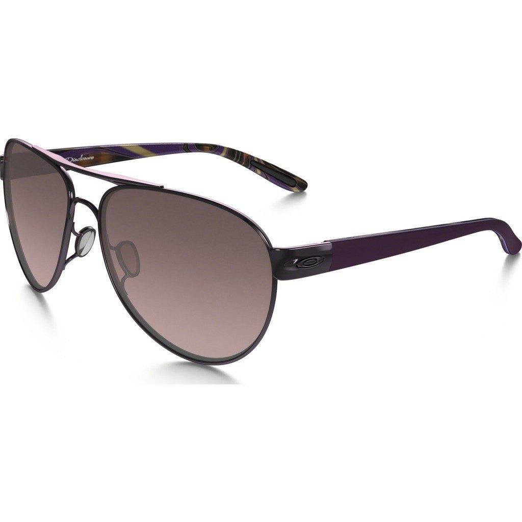 Oakley Womens Active Distress Polished Blackberry Sunglasses | G40 Black Gradient OO4110-01