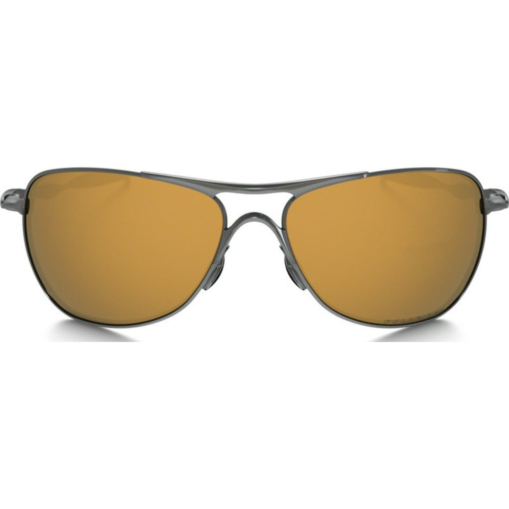 Oakley Iconic TI Crosshair Titanium Sunglasses | Tungsten Iridium Polarized OO6014-01