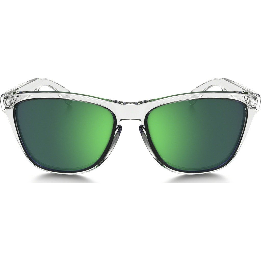 5c8497fdce ... reduced oakley lifestyle frogskins crystal clear sunglasses jade iridium  oo9013 a3 8f1c5 6ca11