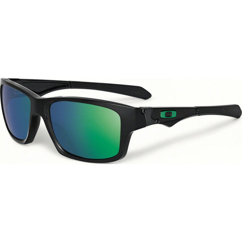 Oakley Lifestyle Jupiter Squared Polished Black Sunglasses | Jade Iridium OO9135-05