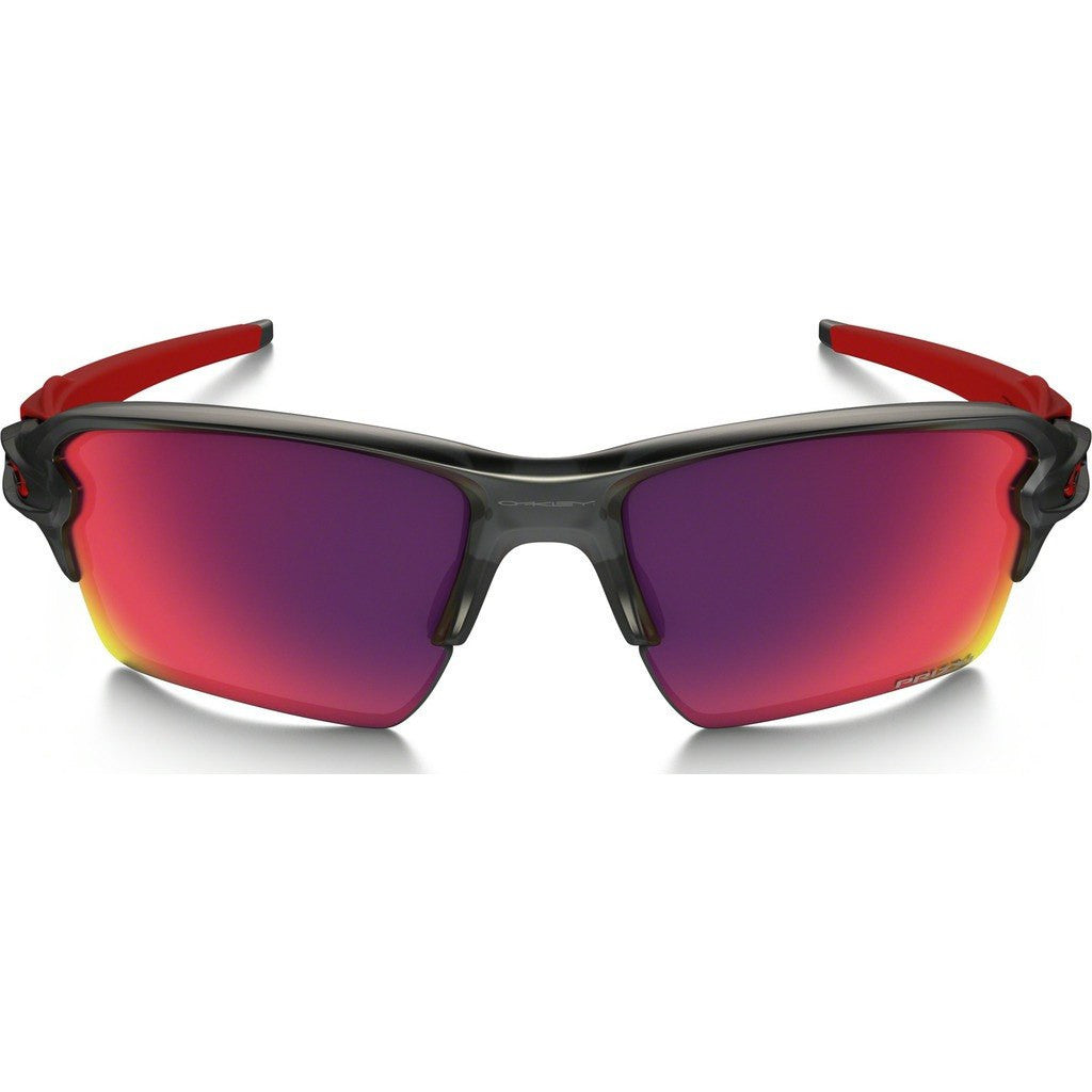 Oakley Sport Flak 2.0 XL Matte Grey Smoke Sunglasses | Prizm Road OO9188-04