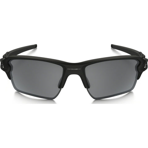 Oakley Sport Flak 2.0 XL Matte Black Sunglasses | Black Iridium Polarized OO9188-53