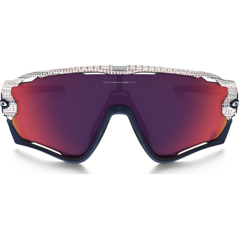 Oakley Sport Team USA Jawbreaker White Sunglasses | Prizm Road OO9290-16