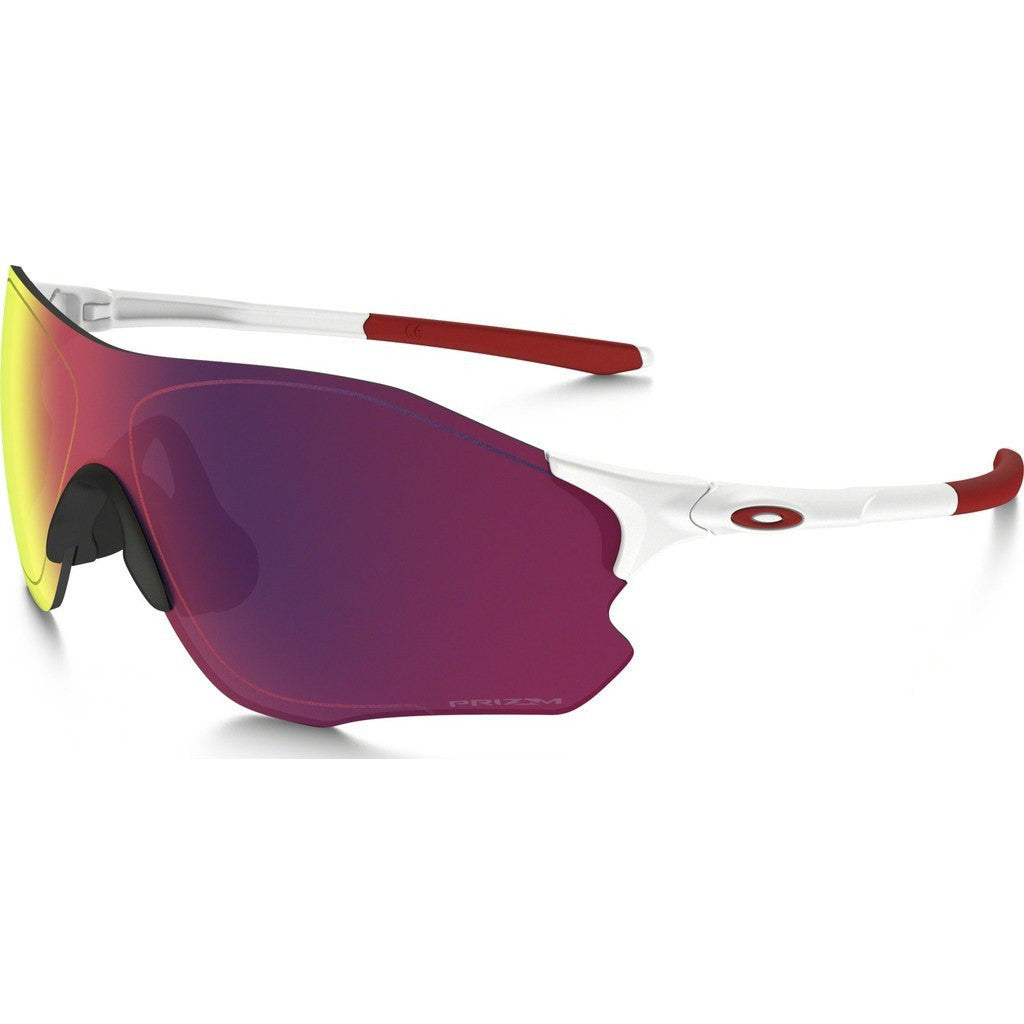 Oakley Sport EV Zero Path Matte White Sunglasses | Prizm Road OO9308-06