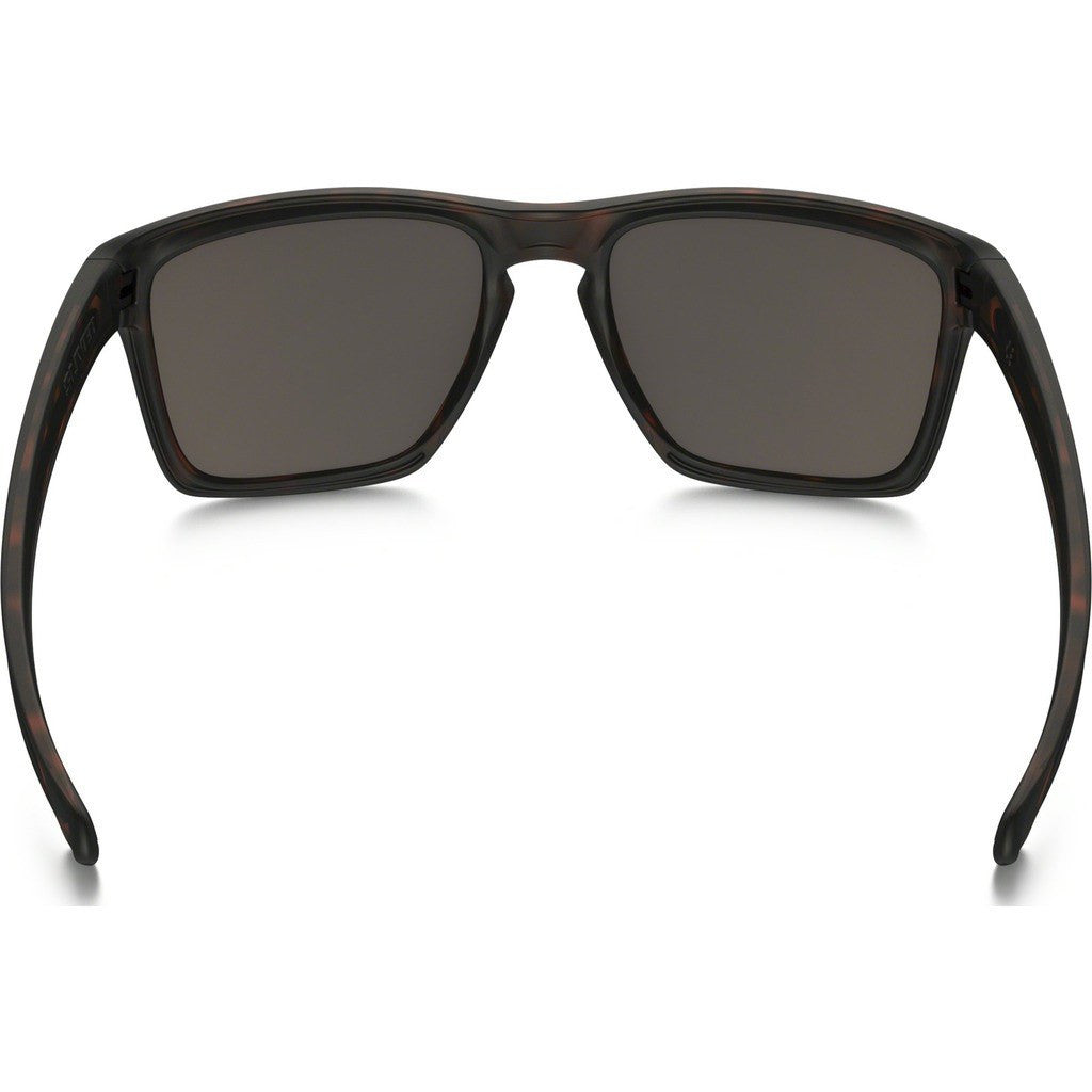 Oakley Lifestyle Sliver XL Matte Brown Tortoise Sunglasses | Warm Grey OO9341-04