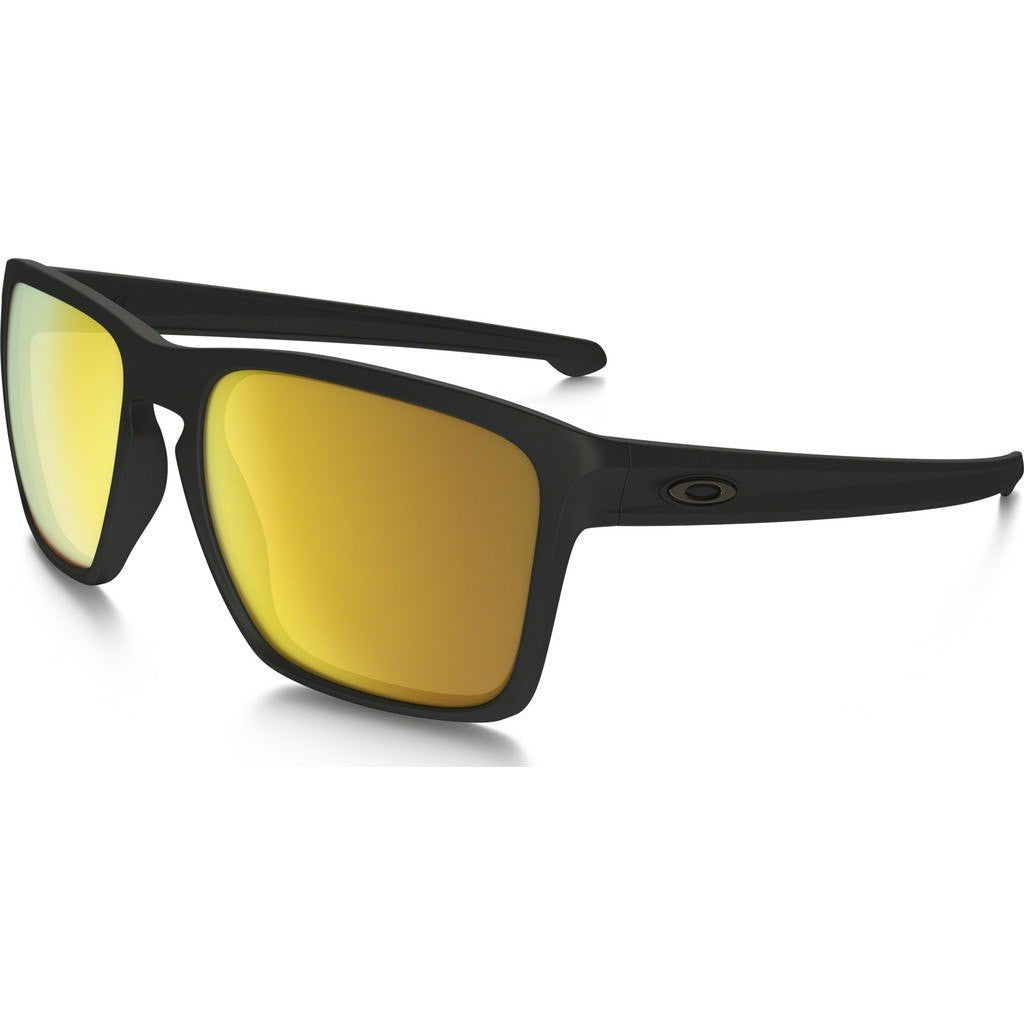 Oakley Lifestyle Sliver XL Matte Black Sunglasses | 24K Iridium OO9341-07