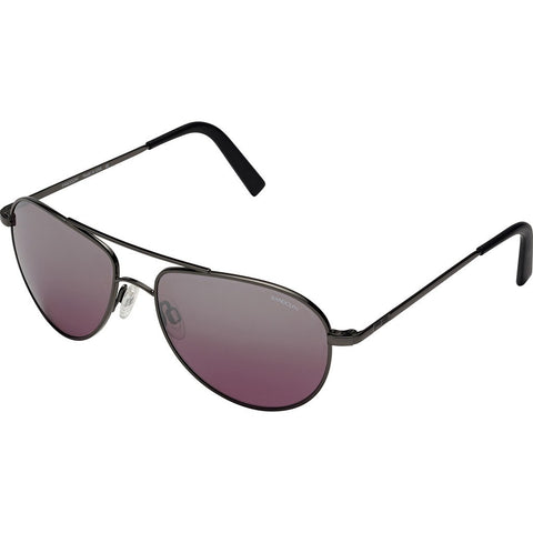 Randolph Engineering The Hawk Dark Ruthenium Polished Sunglasses | Midnight Metallic Nylon AR Skull 57MM OP7F409-2-NY