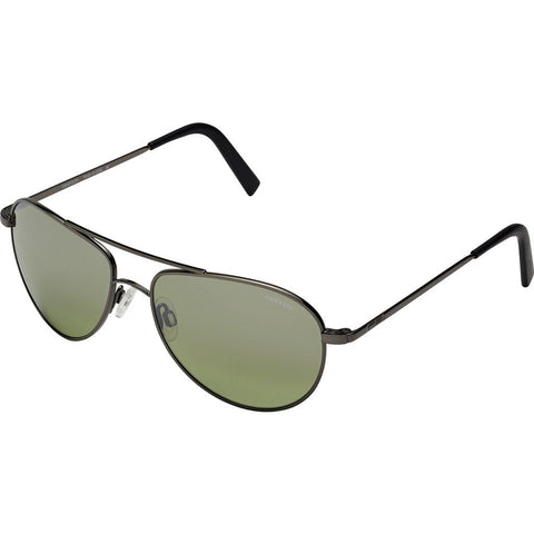 Randolph Engineering The Hawk Dark Ruthenium Polished Sunglasses | Jade Metallic Nylon AR Skull 57MM OP7F410-2-NY