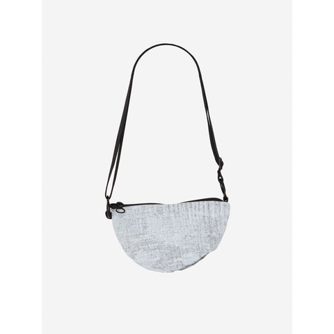 Cote & Ciel Orba Creased Crossbody Bag | Light Grey