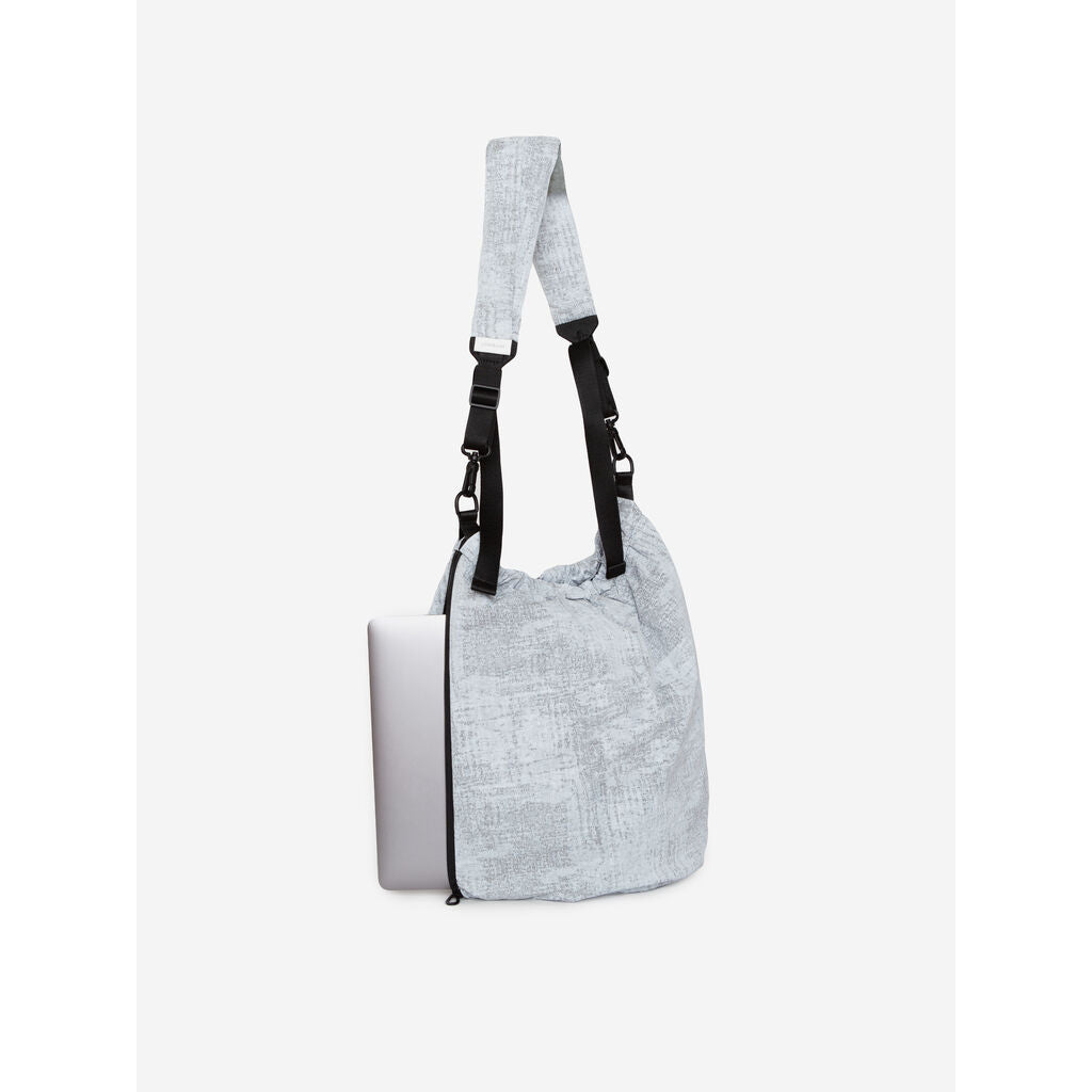 Cote & Ciel Orco Creased Tote | Light Grey