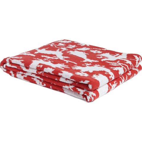 in2green Reversible Otomi Throw | Spice BL02ROT6