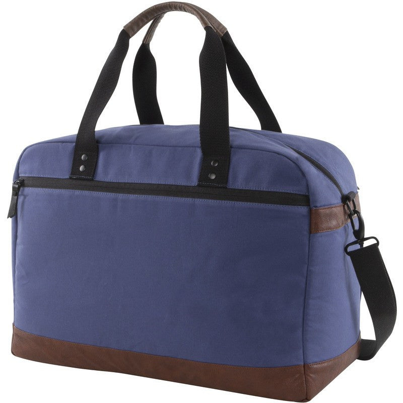 Hex Century Overnight Duffel | Blue Canvas