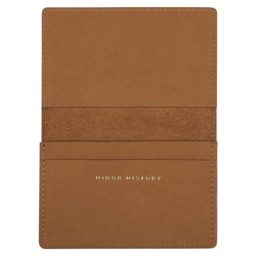 Minor History Oyster Folded Wallet | Oiled Saddle OYS_214_B