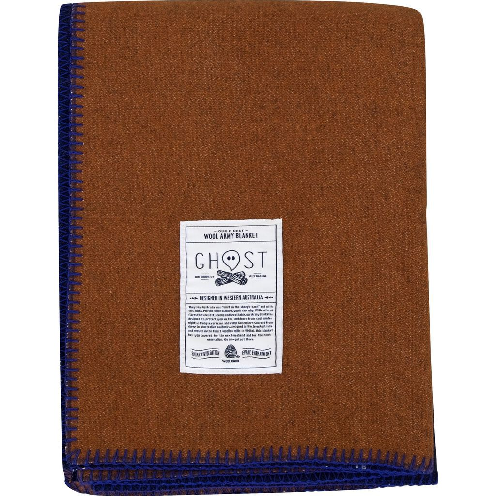 Ghost Outdoors Army Blanket | Ochre Road