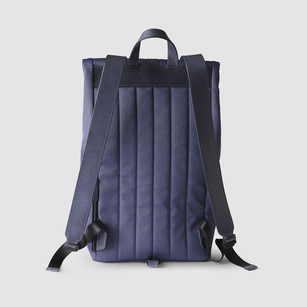 Octovo Foldover Backpack | Blue