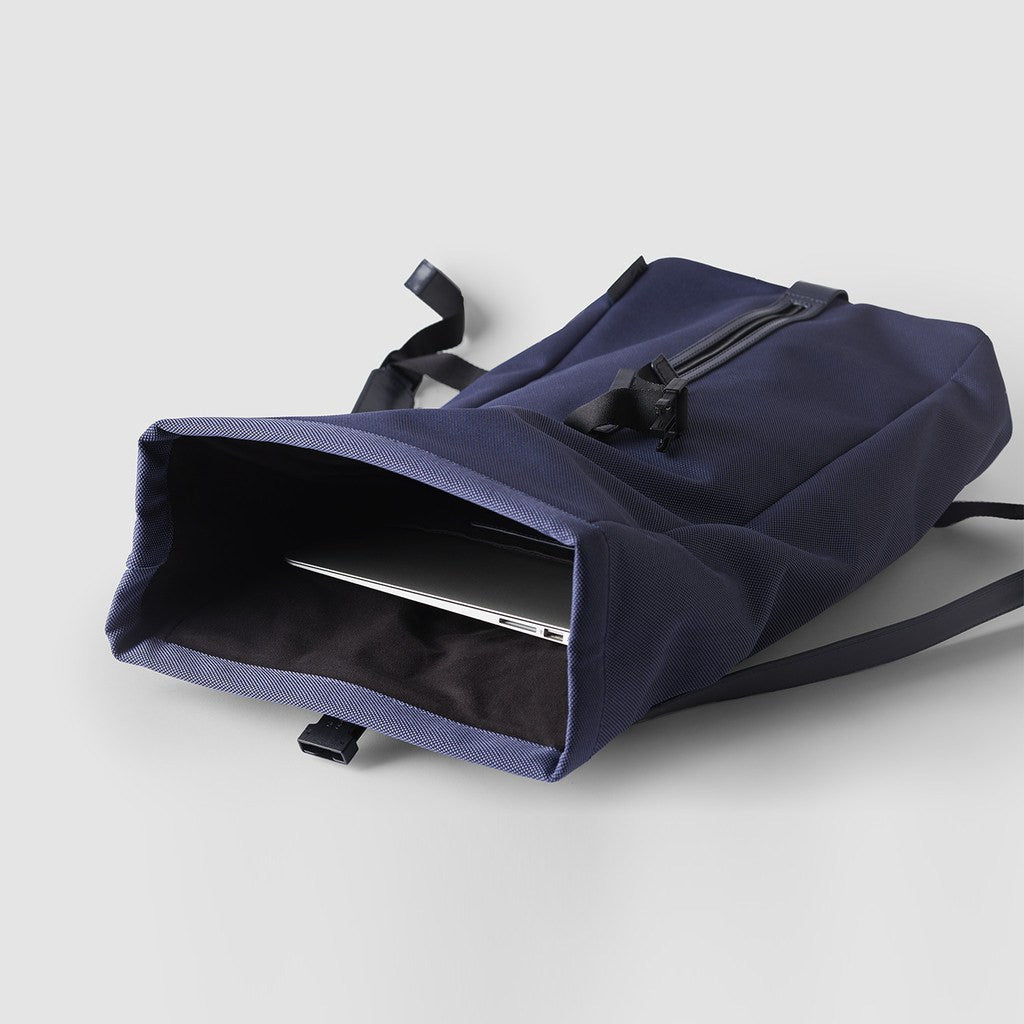Octovo Foldover Backpack | Blue W01-023-BLU