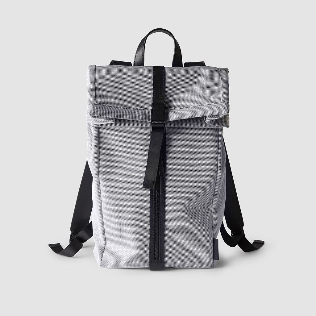 Octovo Foldover Backpack | Smoke W01-023-SMK