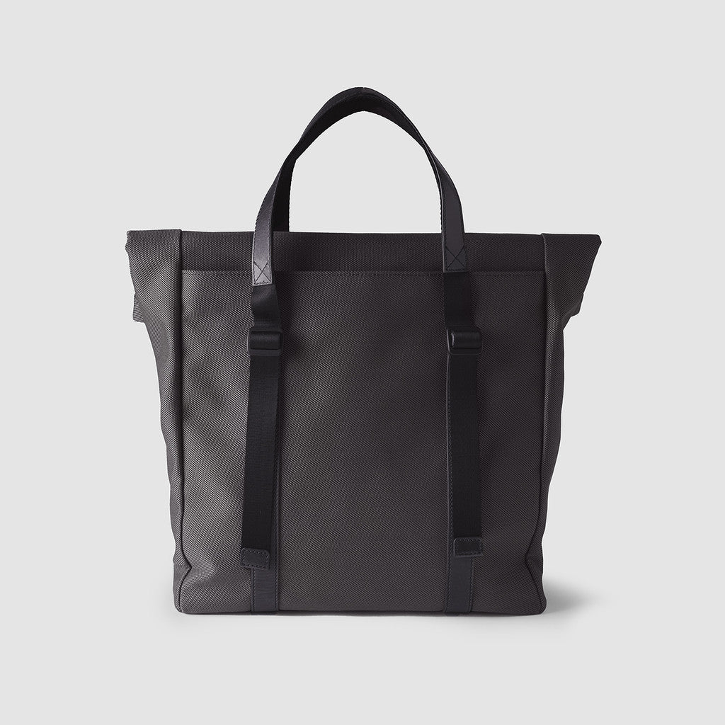 Octovo Foldover Tote Bag | Charcoal W01-024-CHC