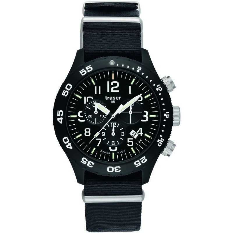 traser H3 Professional P6704 Officer Chronograph Pro Men's Watch | Nato Strap