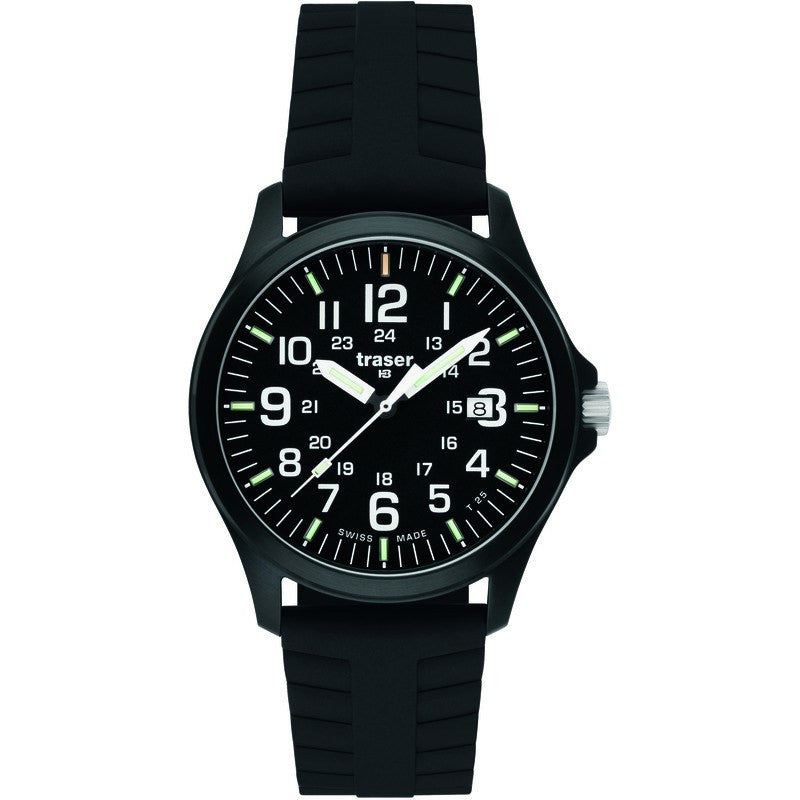 traser H3 Professional P6704 Officer Pro Men's Watch Silicone Strap