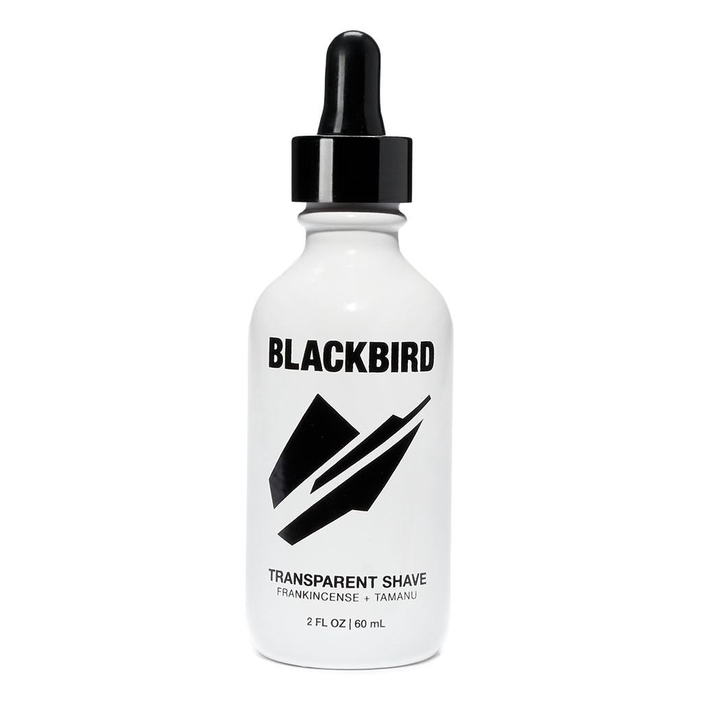 Blackbird Shave Oil | Transparent 60 ml