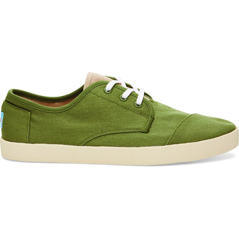TOMS Paseos Shoes | Olivine Canvas