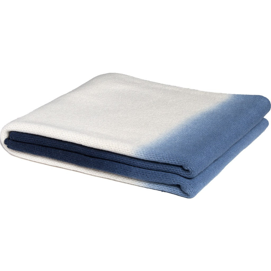 in2green Ombre Eco Throw | Indigo BL01OM1
