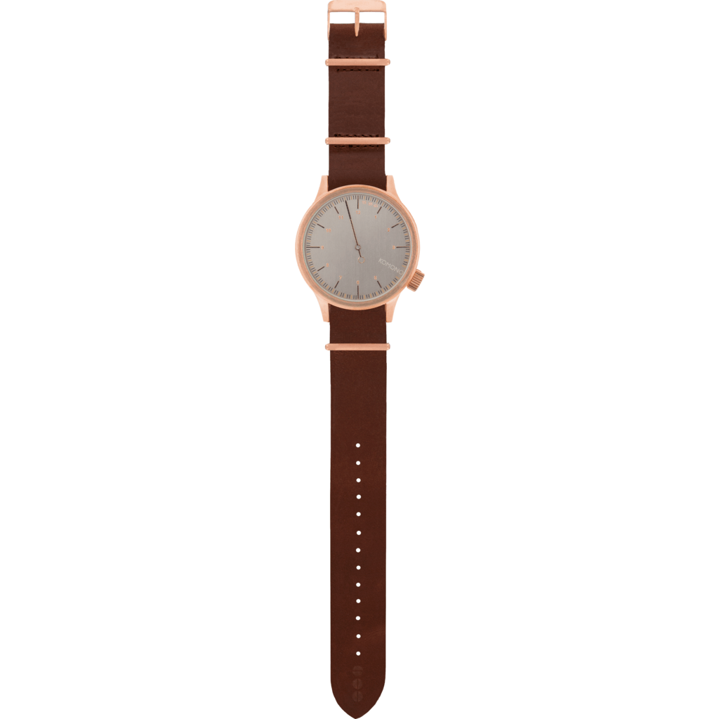 Komono Magnus One Watch | Mahogany KOM-W1932