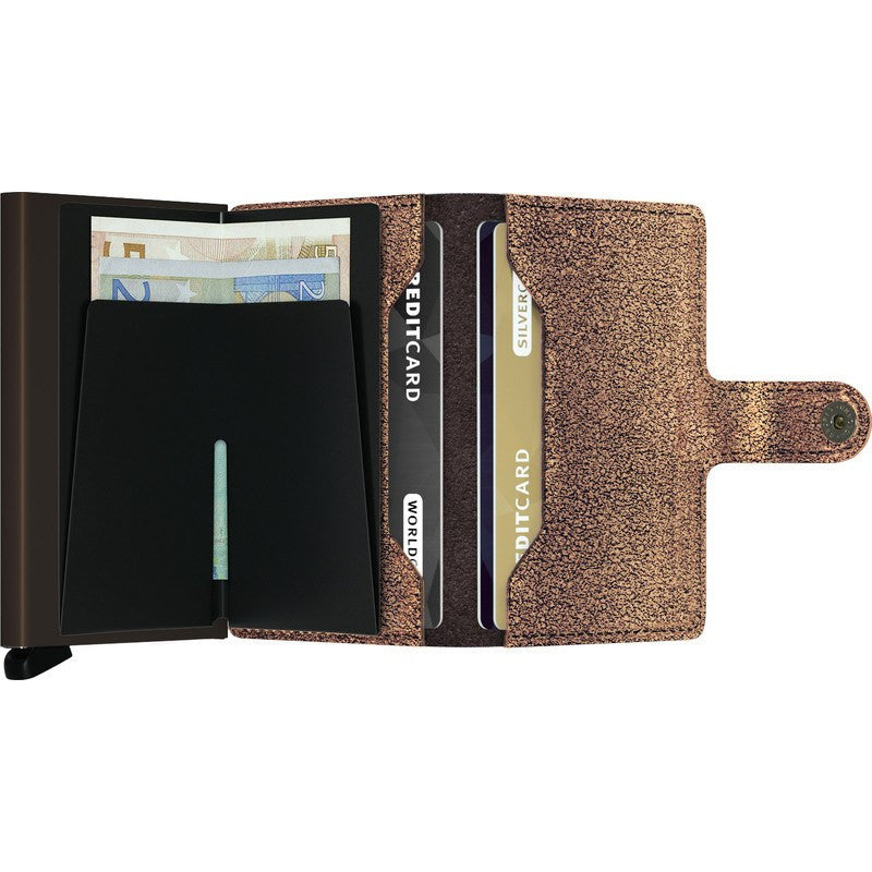 Secrid Mini Wallet Glamour | Bronze MG-Bronze